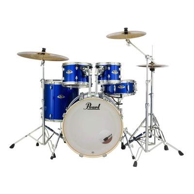 Zestaw perkusyjny Pearl Export EXX705NBR/C717 + blachy + hardware