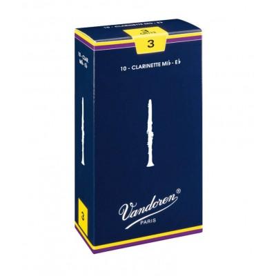 Stroiki do klarnetu Eb Vandoren Traditional - opakowanie 10 sztuk