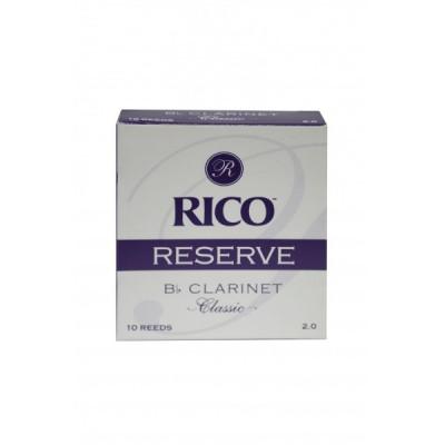 Stroik do klarnetu Bb Rico Reserve Classic – 1 sztuka