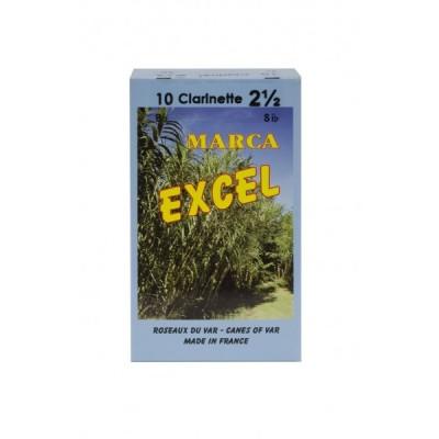 Stroiki do klarnetu Bb Marca Excel – opakowanie 10 sztuk