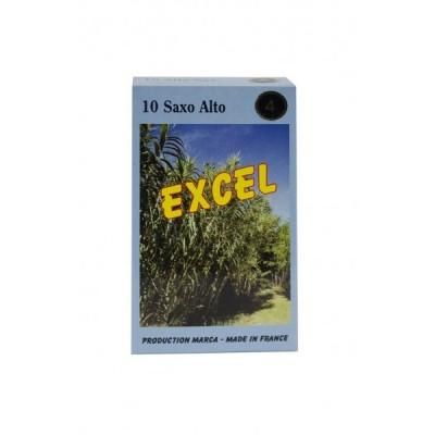 Stroiki do saksofonu altowego Marca Excel – opakowanie 10 sztuk