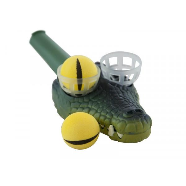 Przyrząd do ćwiczeń oddechowych - Crocodile Eye Pops