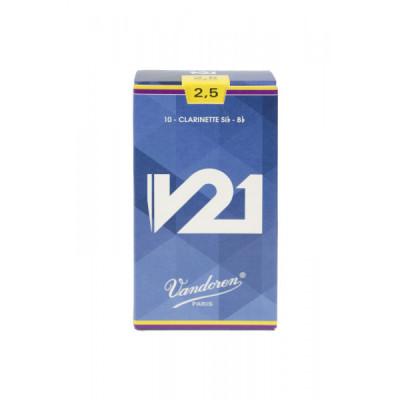Stroiki do klarnetu Bb Vandoren V21 - opakowanie 10 sztuk