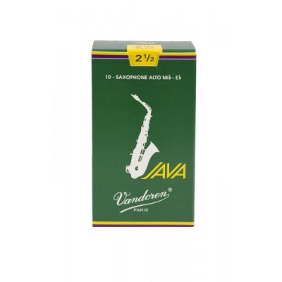 Stroiki do saksofonu altowego Vandoren Java - opakowanie 10 sztuk