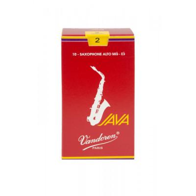 Stroiki do saksofonu altowego Vandoren Java Red - opakowanie 10 sztuk