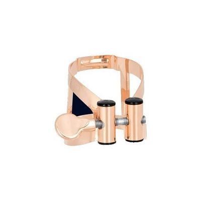 Ligatura z ochraniaczem do saksofonu altowego Vandoren M/O PINK GOLD