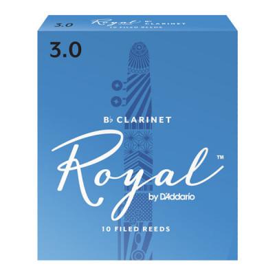Stroiki do klarnetu Bb Rico Royal by D'Addario - opakowanie 10 sztuk