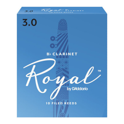 Stroik do klarnetu Bb Rico Royal by D'Addario - 1 sztuka