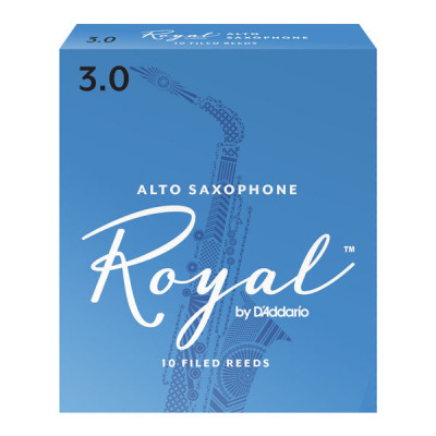 Stroik do saksofonu altowego Rico Royal by D'Addario - 1 sztuka