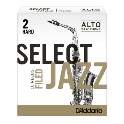 Stroik do saksofonu altowego Rico Select Jazz Filed by D'Addario - 1 sztuka