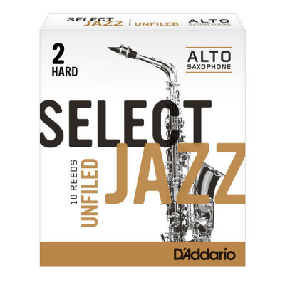 Stroik do saksofonu altowego Rico Select Jazz Unfiled by D'Addario - 1 sztuka