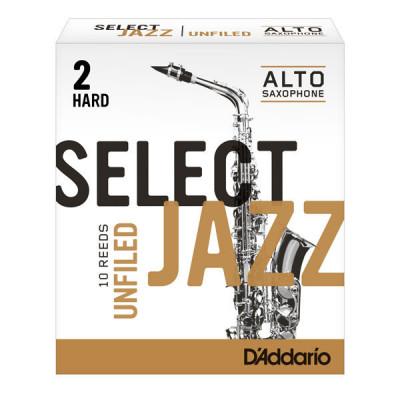 Stroik do saksofonu altowego Rico Select Jazz Unfiled by D'Addario - 1 sztuka
