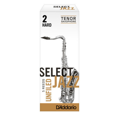 Stroik do saksofonu tenorowego Rico Select Jazz Unfiled by D'Addario - 1 sztuka