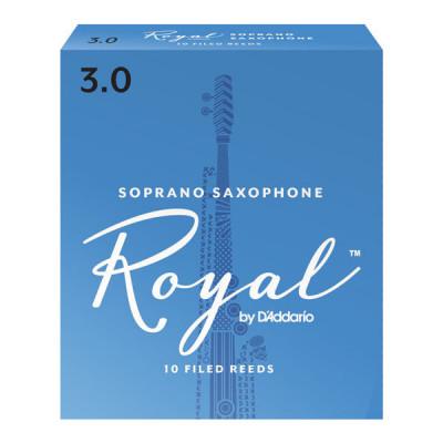 Stroiki do saksofonu sopranowego Rico Royal by D'Addario - opakowanie 10 sztuk