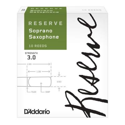 Stroiki do saksofonu sopranowego Rico Reserve by D'Addario - opakowanie 10 sztuk