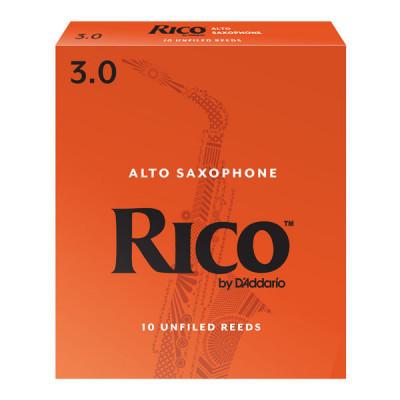 Stroiki do saksofonu altowego Rico by D'Addario - opakowanie 10 sztuk