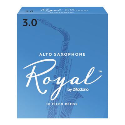 Stroiki do saksofonu altowego Rico Royal by D'Addario - opakowanie 10 sztuk