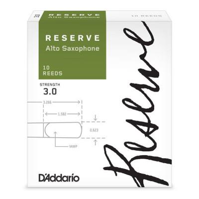 Stroiki do saksofonu altowego Rico Reserve by D'Addario - opakowanie 10 sztuk