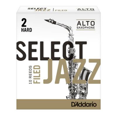 Stroiki do saksofonu altowego Rico Select Jazz Filed by D'Addario - opakowanie 10 sztuk
