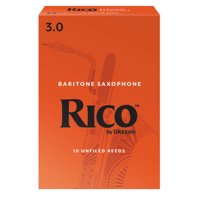 Stroiki do saksofonu barytonowego Rico by D'Addario - opakowanie 10 sztuk