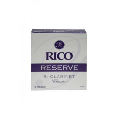 Stroiki do klarnetu Bb Rico Reserve Classic - opakowanie 10 sztuk - WYPRZEDAŻ