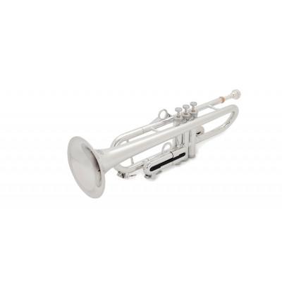 Trąbka plastikowa pTrumpet hyTech w kolorze srebrnym