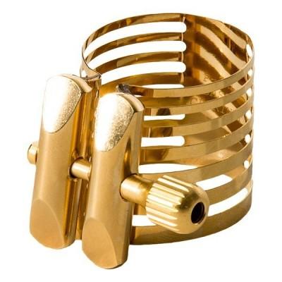 Ligatura z ochraniaczem do klarnetu Rovner PLATINUM GOLD
