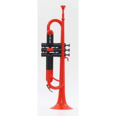Trąbka plastikowa ABS 1 czerwona