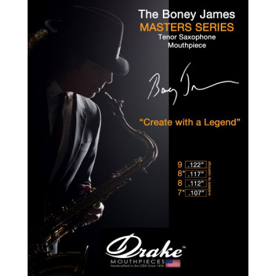 Ustnik do saksofonu tenorowego Drake Master Series Boney James 7*