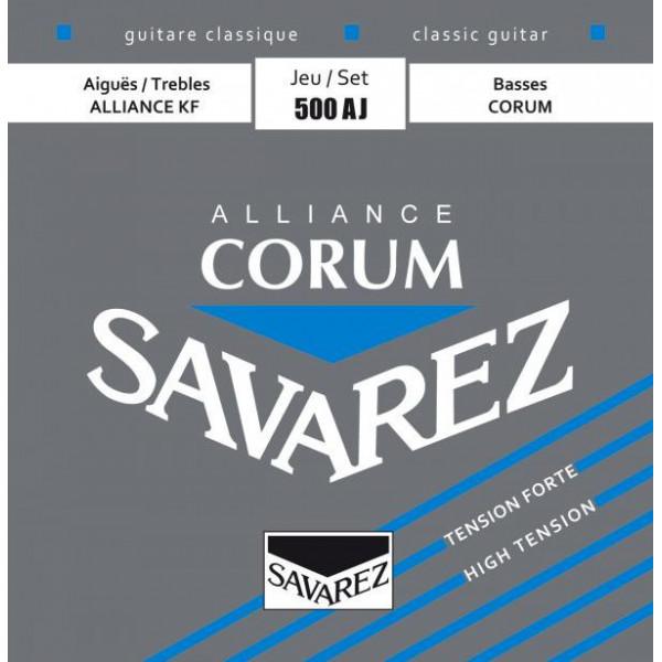 Struny Savarez 500AJ hard tension