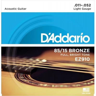 Struny D'addario EZ910 11-52