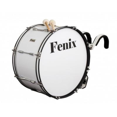 Bęben marszowy Fenix FMB-2412 z nosidłem