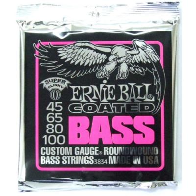 Struny do gitary basowej Ernie Ball EB 3834 45-100