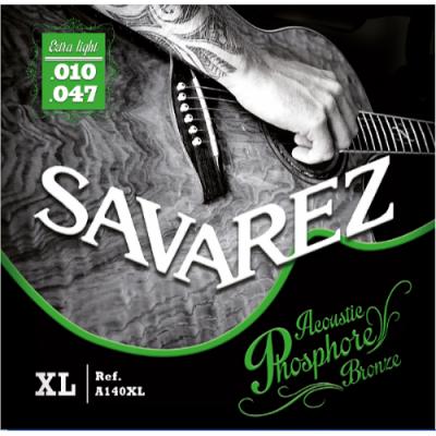 Struny do gitary akustycznej Savarez SA A140 XL 10-47
