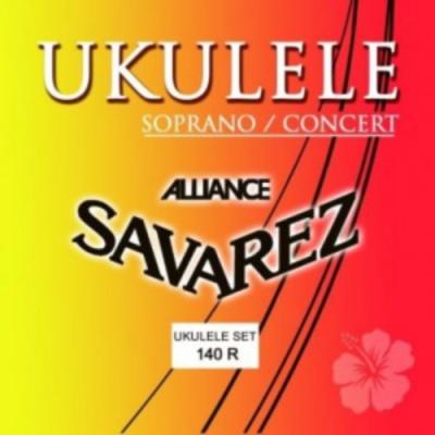 Struny do ukulele Savarez SA 140 R sopran/concert