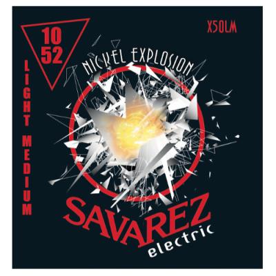 Struny do gitary elektrycznej Savarez SA X50 LM 10-52