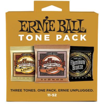Struny do gitary akustycznej Ernie Ball EB 3314 11-52 3 kpl.