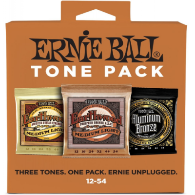 Struny do gitary akustycznej Ernie Ball EB 3313 12-54 3 kpl.