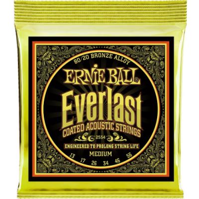 Struny do gitary akustycznej Ernie Ball EB 2554 13-56