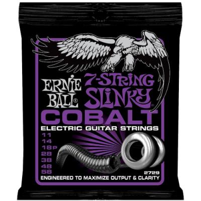 Struny do gitary elektrycznej Ernie Ball EB 2729 11-58