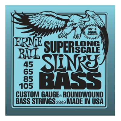 Struny do gitary basowej Ernie Ball EB 2849 45-105