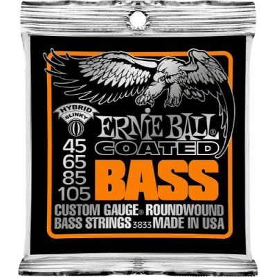 Struny do gitary basowej Ernie Ball EB 3833 45-105