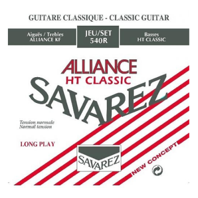 Struny do gitary klasycznej Savarez SA 540 R medium