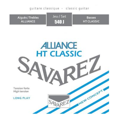 Struny do gitary klasycznej Savarez SA 540 J hard