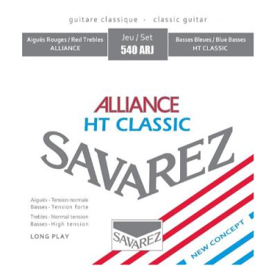 Struny do gitary klasycznej Savarez SA 540 ARJ medium/hard