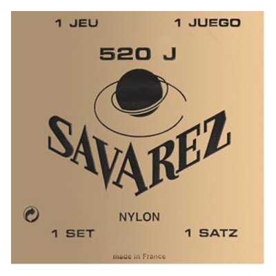 Struny do gitary klasycznej Savarez SA 520 J hard