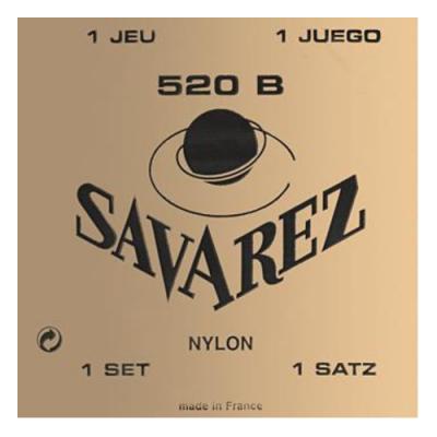 Struny do gitary klasycznej Savarez SA 520 B soft