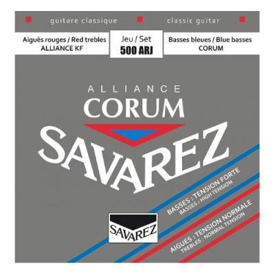 Struny do gitary klasycznej Savarez SA 500 ARJ medium/hard