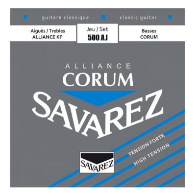 Struny do gitary klasycznej Savarez SA 500 AJ hard