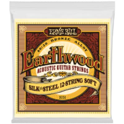 Struny do gitary akustycznej Ernie Ball EB 2051 09-46 12 str.